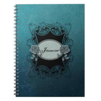 Cuaderno grabado vintage