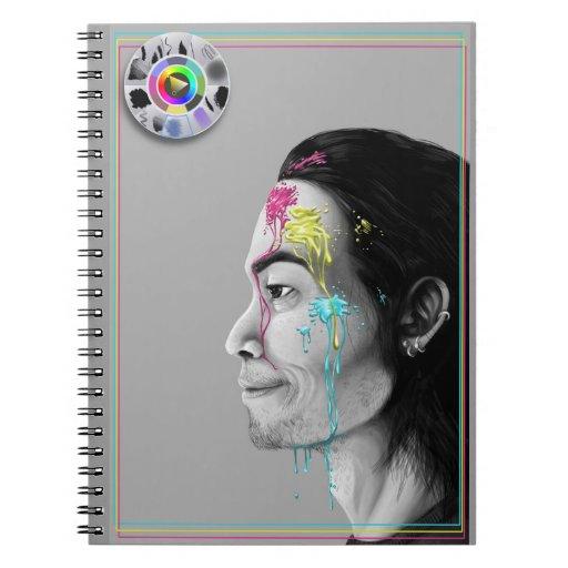Cuaderno greyscale IV