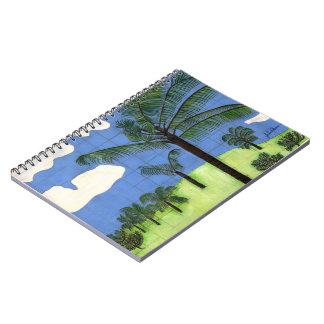 Cuaderno hawaiano de la palmera de Julia Hanna