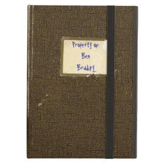 Cuaderno hecho andrajos vintage personalizado de l
