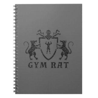 Cuaderno heráldico de la rata del gimnasio