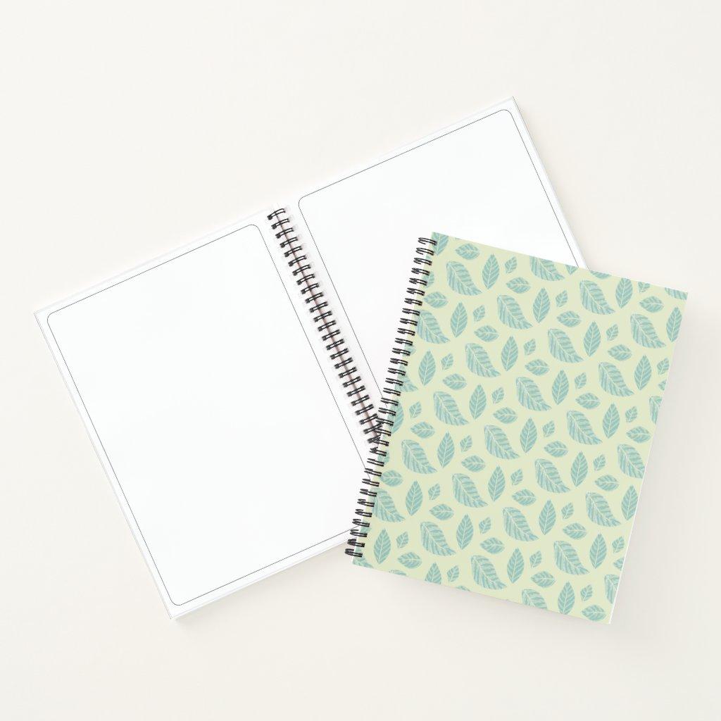 Cuaderno Hojas de