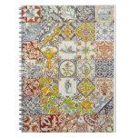 Cuaderno holandés de las baldosas cerámicas