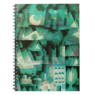 Cuaderno ideal de la ciudad de Paul Klee