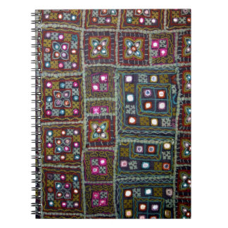 Cuaderno indio de la materia textil