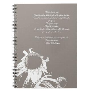 Cuaderno inspirado