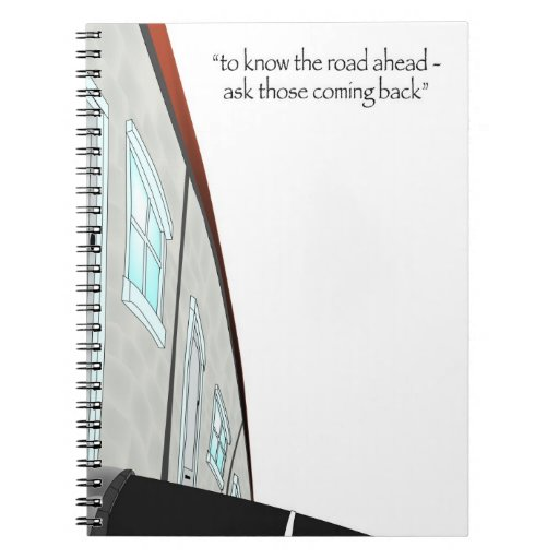 Cuaderno inspirado de la cita