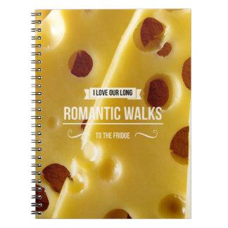 Cuaderno inspirado de la foto de los paseos románt