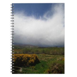Cuaderno irlandés del campo