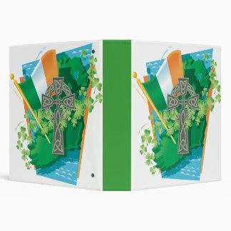 """cuaderno irlandés del orgullo carpeta 1 1/2"""""""