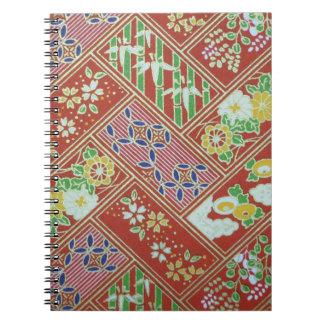 Cuaderno japonés tradicional del modelo