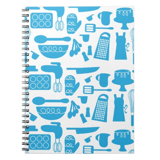 Cuaderno Kitschy del artículos de cocina