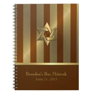 Cuaderno/libro de visitas del perseguidor de libretas espirales