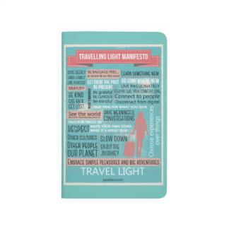 Cuaderno ligero que viaja