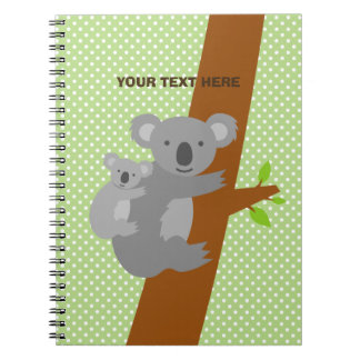 Cuaderno lindo de encargo de los lunares del oso
