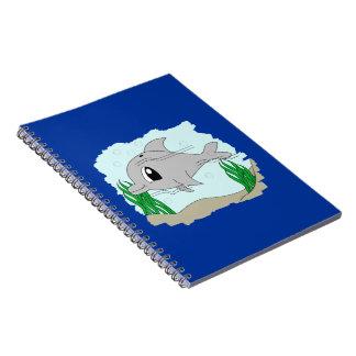 Cuaderno lindo del delfín