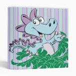 cuaderno lindo del dragón del bebé
