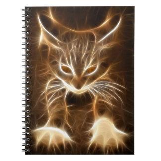 Cuaderno lindo del gatito