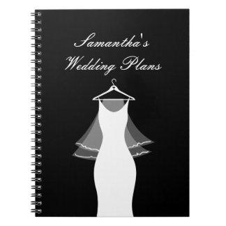 Cuaderno lindo del organizador del planificador