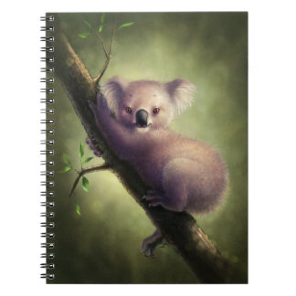 Cuaderno lindo del oso de koala