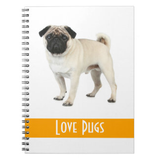 Cuaderno lindo del perro de perrito del barro