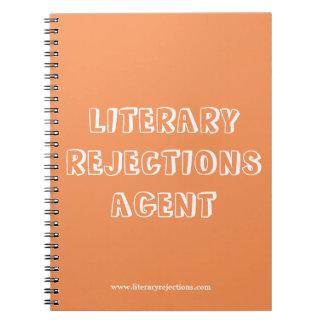 Cuaderno literario del agente de los rechazos
