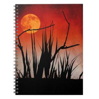 Cuaderno-Luna sobre las precipitaciones Cuaderno