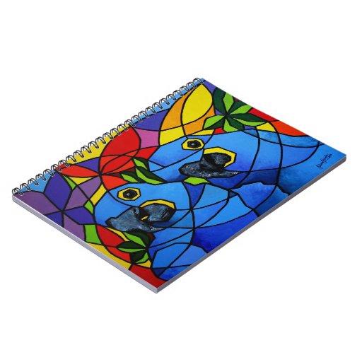 """Cuaderno """"Macaw"""" - Caderno """"Arara """""""