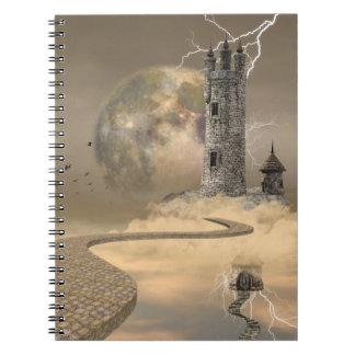 Cuaderno mágico de la torre