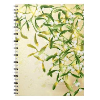 Cuaderno mágico del muérdago