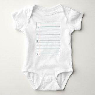 Cuaderno Mameluco De Bebé