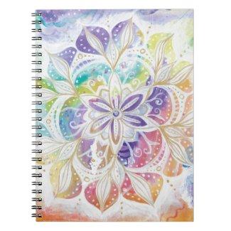 Cuaderno Mandala diseño alegre