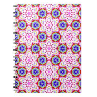 ¡Cuaderno maravilloso del arte abstracto - modelo  Libretas