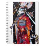 ¡Cuaderno marino de Jaguar del kimono del espacio!