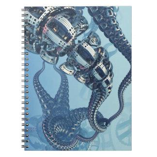 Cuaderno mecánico de Kraken