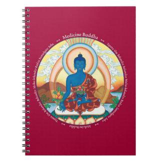 CUADERNO - medicina Buda con su mantra