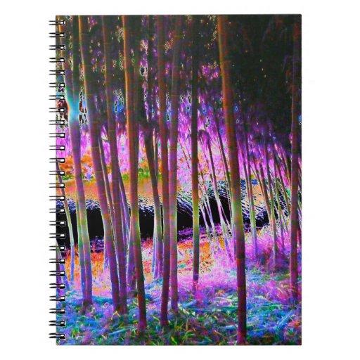 Cuaderno místico del bosque