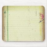 Cuaderno Mousepad de papel Alfombrillas De Raton