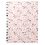 Cuaderno multi rosado de los flamencos