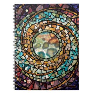 """Cuaderno """"música del mosaico del vitral de esferas"""
