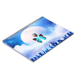 Cuaderno musical de la foto de la metamorfosis (80