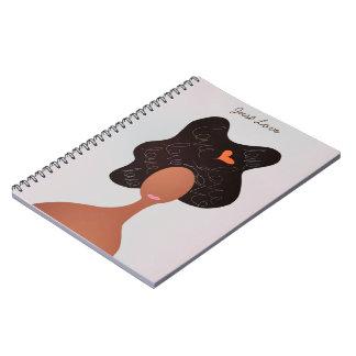 Cuaderno natural del arte del pelo