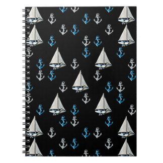 Cuaderno náutico de los barcos y de las anclas de