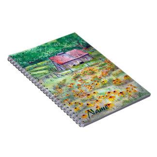 Cuaderno Negro-Observado del granero de Susans