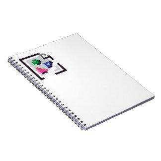 cuaderno no encontrado quebrado de la imagen de la