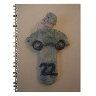 Cuaderno - número de habitación divertido