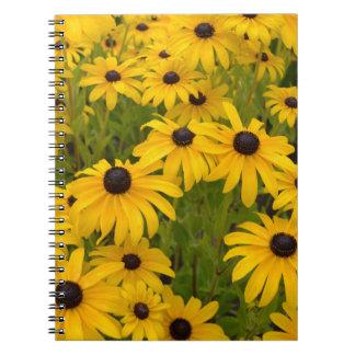 Cuaderno observado negro amarillo de Susans