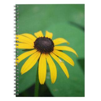 Cuaderno observado negro de Susan