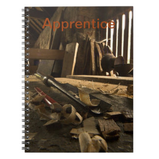 Cuaderno ocupado del taller de los carpinteros