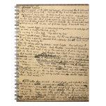 Cuaderno original del manuscrito del villancico de